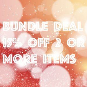 Bundle deal!
